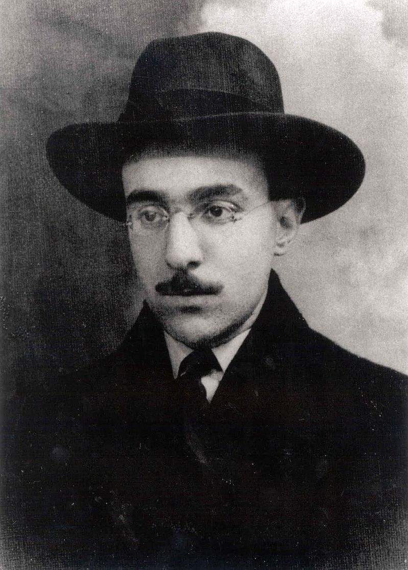 Portrait of Pessoa, 1914.