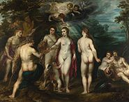 Peter Paul Rubens - The Judgment of Paris - WGA20307