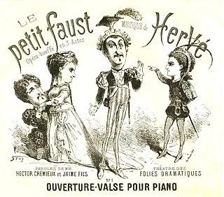 <i>Le petit Faust</i> opera