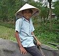 Petit garçon sur un bufle, Vietnam.JPG