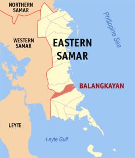 Balangkayan Municipality in Eastern Visayas, Philippines