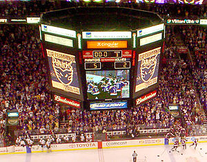 Philadelphia Phantoms - The Phantoms winning their second and final Calder Cup on June 10, 2005.