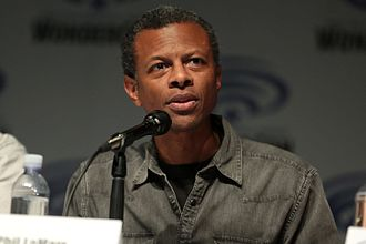 Phil LaMarr - LaMarr at the 2017 WonderCon in Anaheim, California