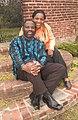 Philip Emeagwali and Dale Emeagwali in Baltimore Maryland October 29 2005.jpg