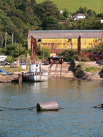 Philip and Son - Image: Philip and Son boatyard at Noss near Dartmouth. geograph.org.uk 900661