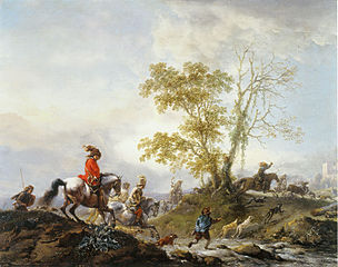 The Stag Hunt (1659)