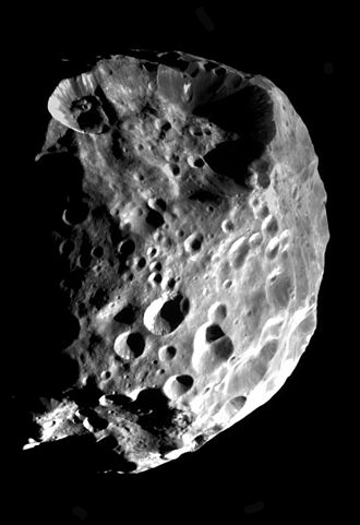 Irregular moon - Phoebe, Saturn's largest irregular satellite