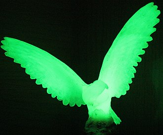 Phosphorescence - Phosphorescent bird figure