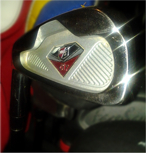 Iron (golf) - Cavity back style iron