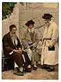 Photochrom Zürich 15129 P. Z. Juifs de Jérusalem, Title from the Detroit Publishing Co., catalogue J foreign section, Types of Jews in Jerusalem, Holy Land.jpg
