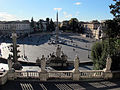 Piazza del popolo vista dal pincio.JPG
