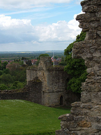 Pickering Castle maintained by English Heritage. Pickering Castle.jpg