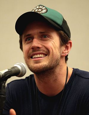 Pierce Brown - Brown at the Phoenix Comicon in 2017