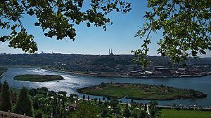 Sütlüce, Beyoğlu - View from Pierre Loti