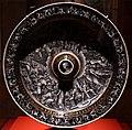 Pierre reymond, piatto da acquamanile col giudizio di mosè, 1559, 01.jpg