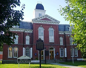 Milford, Pennsylvania - Pike County Courthouse, built in 1874
