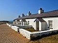 Pilots' cottages on Ynys Llanddwyn - geograph.org.uk - 1811257.jpg