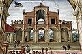 Pinturicchio, liberia piccolomini, 1502-07 circa, Enea Silvio incoronato poeta dall'imperatore Federico III 02.JPG