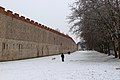 Pisa, 2018, neve lungo le mura.jpg