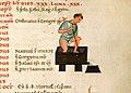 Pisa, salterio, 1175-1200 ca., acquistato da maria luisa di borbone nel 1806 (acquisti e doni 181) 02 pigiatura uva.jpg