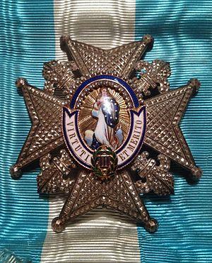Order of Charles III - Image: Placa Orden de Carlos III AEA Coll