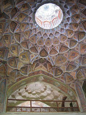 Oculus - Image: Plafond hasht behesht esfahan