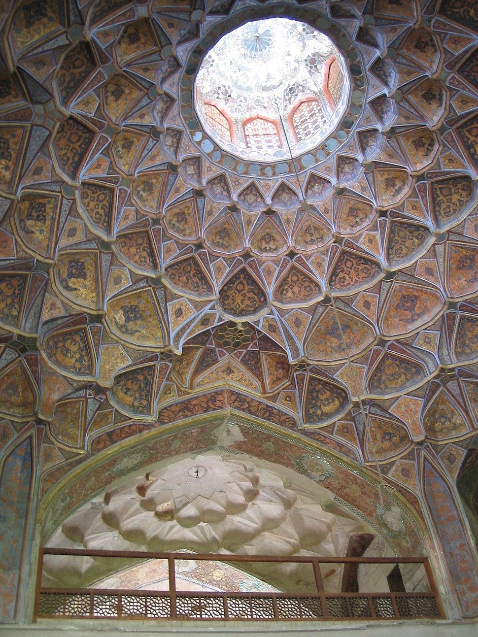 Plafond hasht behesht esfahan