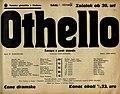 Plakat za predstavo Othello v Narodnem gledališču v Maribor 3. februarja 1940.jpg