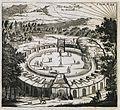 Plan d'un des villages de Comouks - Tavernier Jean Baptiste - 1712.jpg