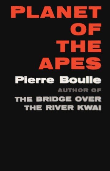 Planet of the Apes book cover