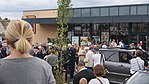 Plaque unveiling for James Harry Lacey, Aldi, Wetherby (23rd July 2017) 002.jpg