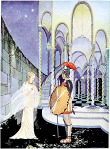 Plate (retouched) facing page37 of Tanglewood Tales (1921).png