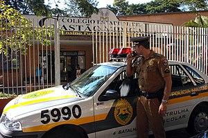 Military Police of Paraná State - School Patrol - 2008.