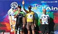 Podium - classement général du Tour de l'Ain 2013.JPG