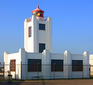 Point Hueneme Light lighthouse in California, United States