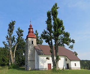 Pokojišče - Saint Stephen's Church