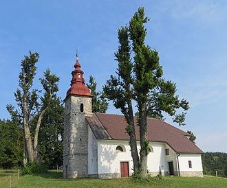 Pokojišče - Saint Stephen's Church