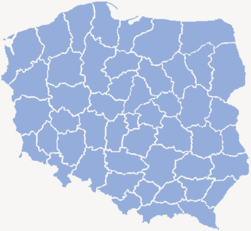 Poland administrative division 1975.png