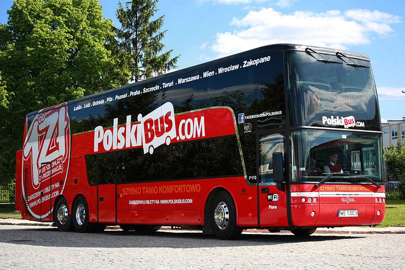 Марка PolskiBus в апреле 2018 года исчезнет с польского рынка