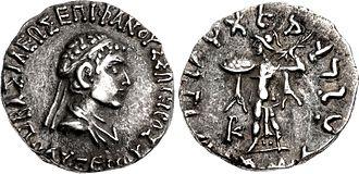 Polyxenos Epiphanes Soter - Coin of Polyxenus.