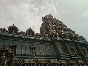 Guntur district - Lord Hanuman temple, Ponnur