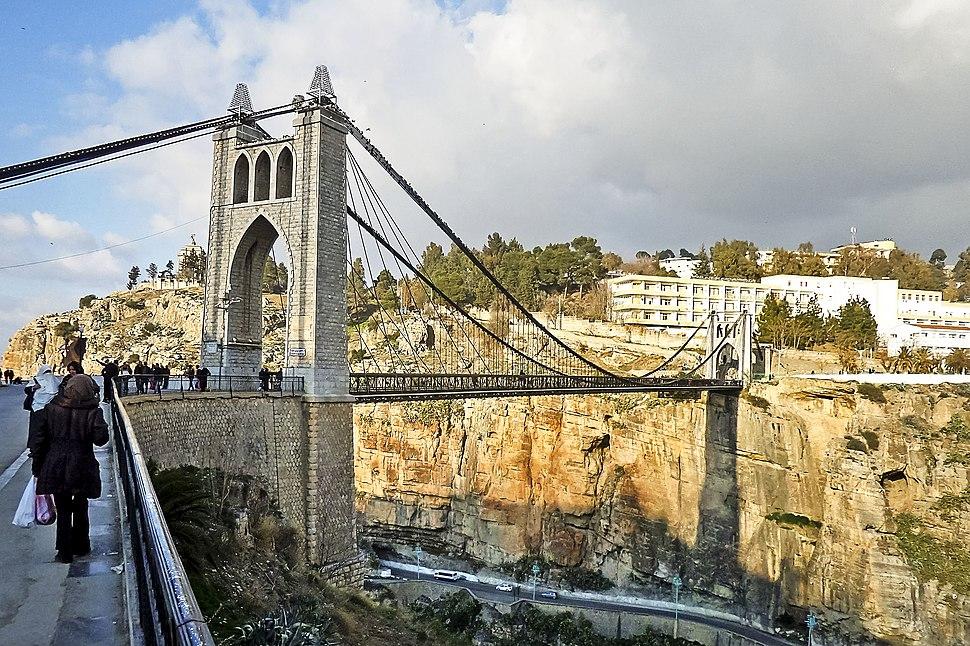 Pont de Sidi Msid - constantine جسر سيدي مسيد - قسنطينة