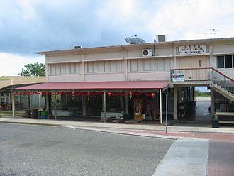 Christmas Island - Poon Saan shops