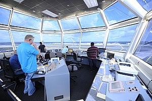 Pope Field Air Traffic Control Tower (9206250542).jpg