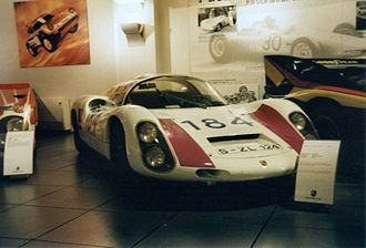 Targa Florio - Porsche 910 2.0 coupé driven by Umberto Maglioli and Udo Schütz in 1967.