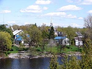 Portage-du-Fort, Quebec - Image: Portage du Fort QC 1