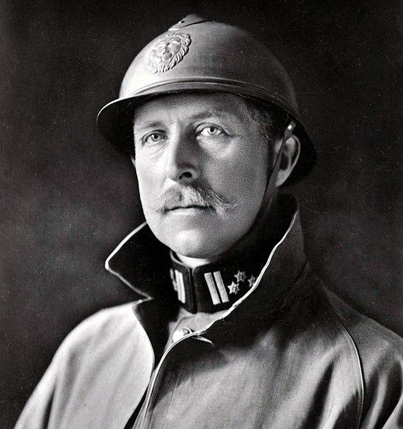 Portrait of Albert I of Belgium