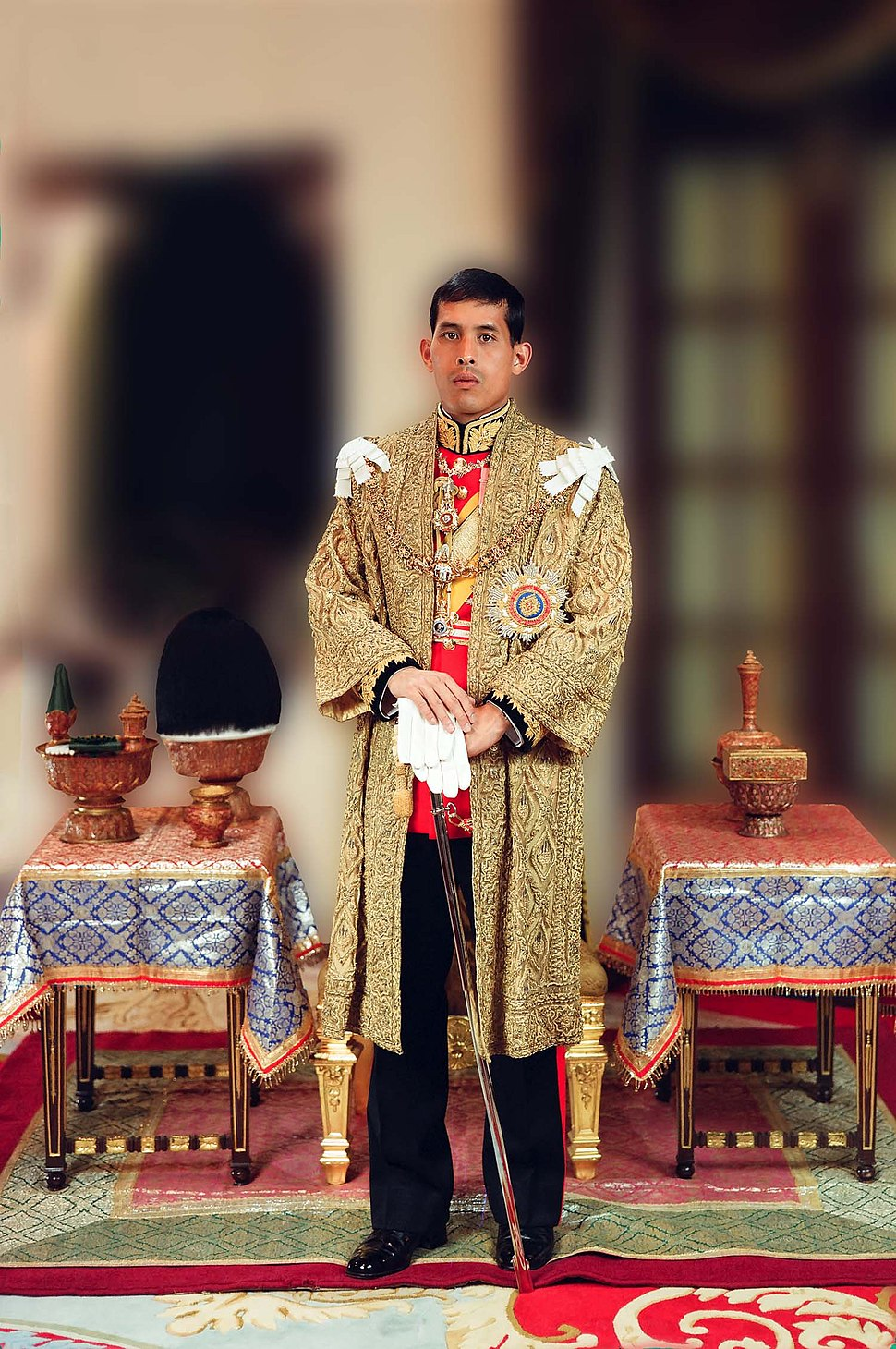 Portrait of King Rama X