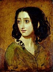 William Etty: Mademoiselle Rachel