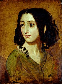 Portrait of Mlle Rachel by William Etty YORAG 988.jpg